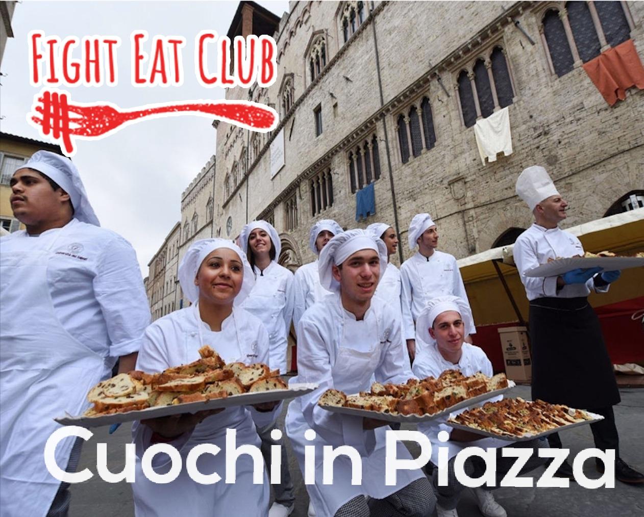 Cuochi in Piazza il nuovo format di Fight Eat Club