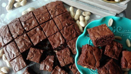 preview della video ricetta: BROWNIES alle ARACHIDI