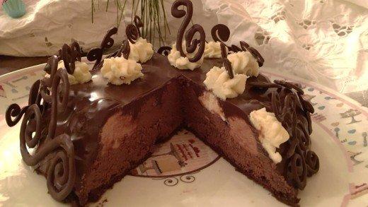preview della video ricetta: Torta ai 3 Cioccolati